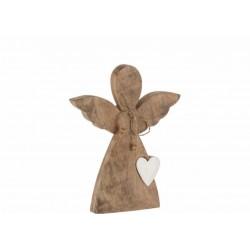 Ange avec cœur