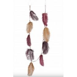 Guirlande en plumes