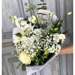 Bouquet blanc signature