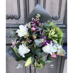 Bouquet champêtre multicolore