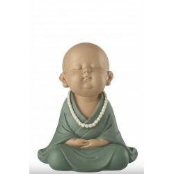 Moine zen en résine