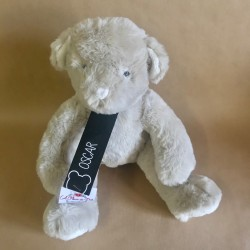 Peluche ours gris